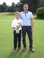 Andy & Samuel Trott Greensome champions 2012