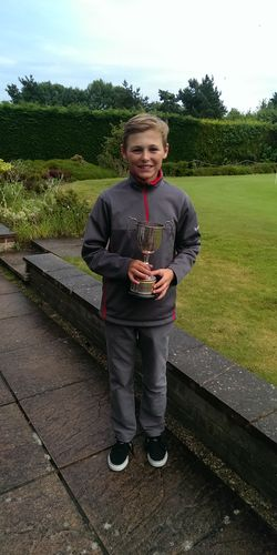 Weymouth Challenge Cup Boys Handicap Champion
