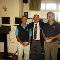 Calvin and John Runners Up Weymouth GC