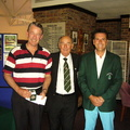 Colin Short Seniors Championship Runner Up