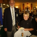 Oscar Perry Under 12 Handicap Winner