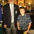 Nathan Goulding Under 13 Handicap Runner Up