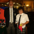 Harry Willsher Under 13 Runner Up