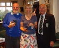 Mike Chapman & Tracy Bazell Scratch Runners Up