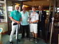 Callum Ward and Mike Wilcox 2016 Champions