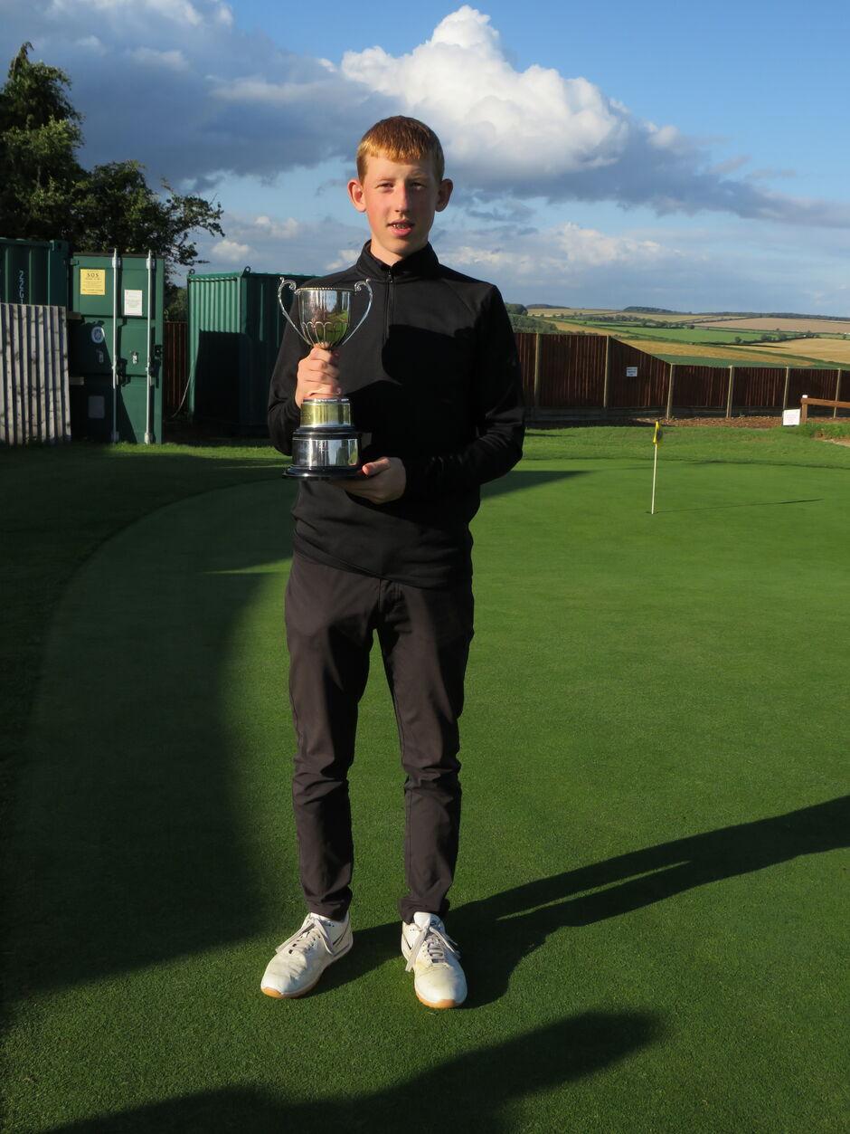 Toby Trott 2021 Boys Handicap Champion
