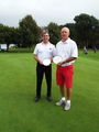 Kevin Redman & Terry Pettifer Inter-Club Foursome Handicap ChampionsKevin
