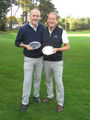 Mike Gibbons and Andrew Keel Inter-Club Handicap Champions