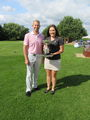 Melissa McMahon and Steven MudfordMixed Foursome Champions