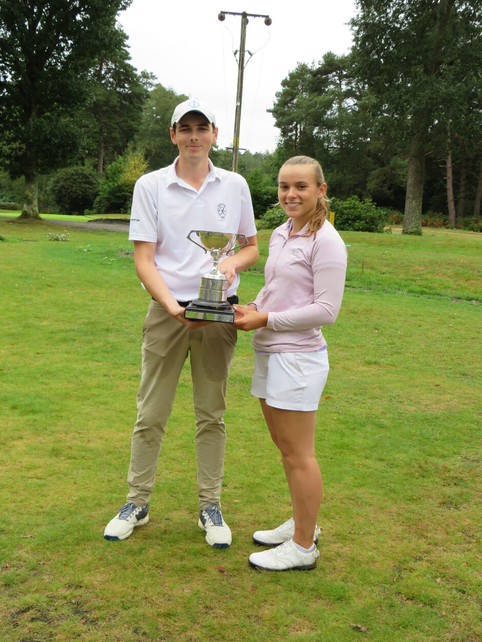 Alice & Adan 2020 Inter-Club Mixed Champions