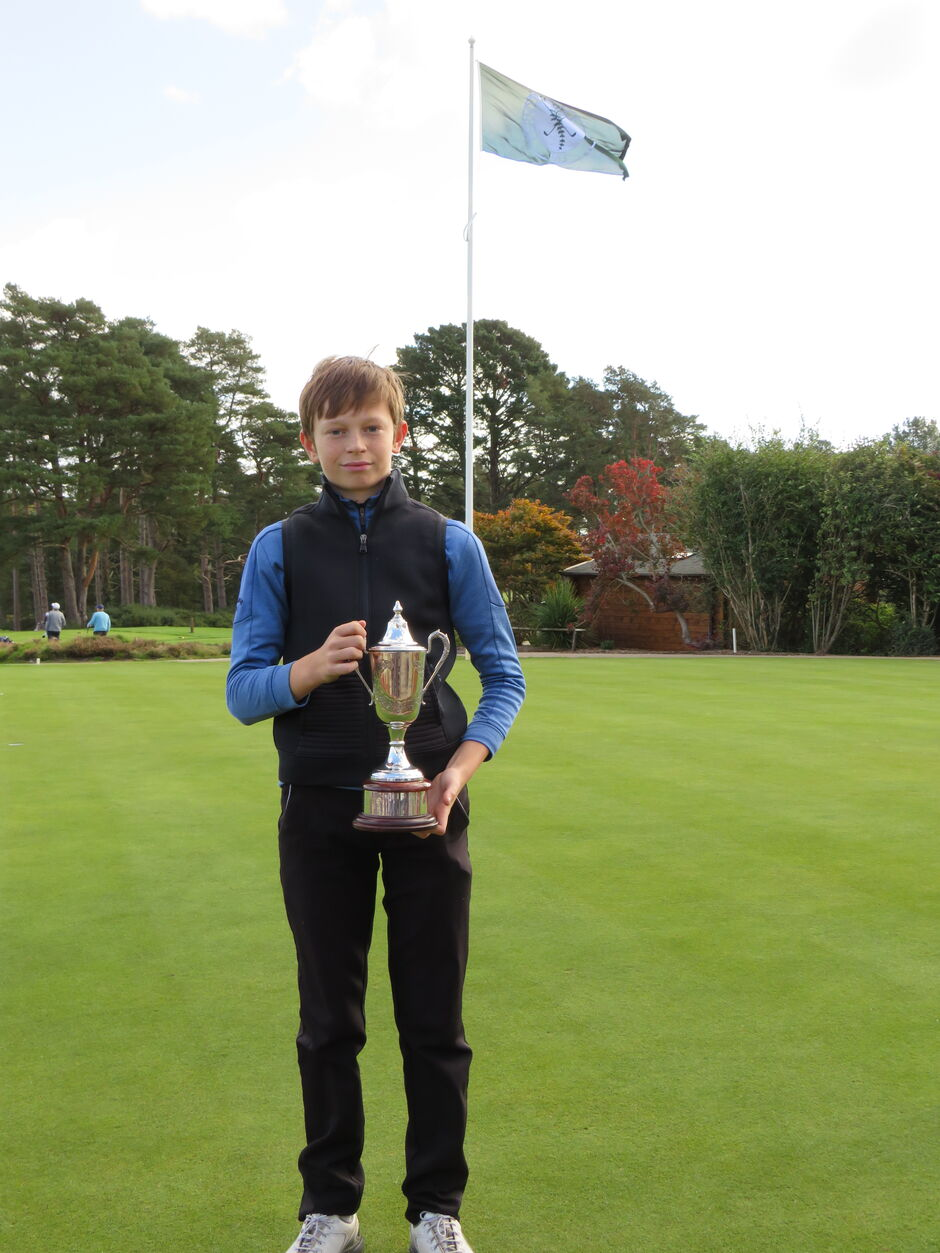 Oliver Rogers 2020 Peter alliss Young Master